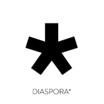 Логотип соціальної мережі Diaspora* Alpha