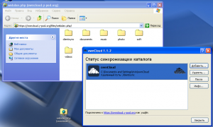 OwnCloud via Webdav from Windows XP