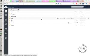 Файловий менеджер в ownCloud 5
