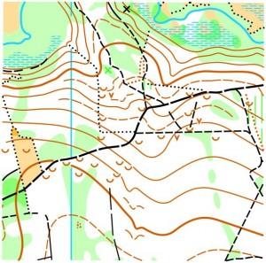 Фрагмент карти Макітра