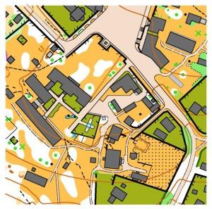 Фрагмент карти Центр - Ситківці