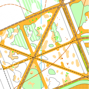 Фрагмент карти Дендропарк