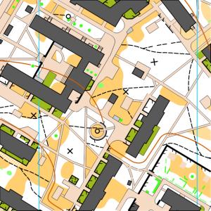 Фрагмент карти Мікрорайон №1
