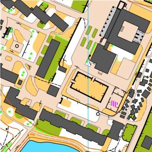 Фрагмент карти Школа №27