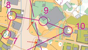 Розриви з'єднувальних ліній у Purple Pen