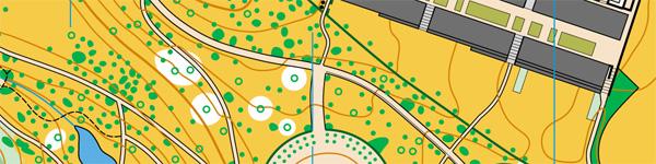 Зразок спринтерської карти