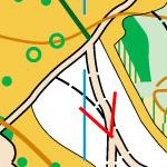 Доріжки без покриття на карті