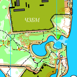 Фрагмент карти ЧЗБМ