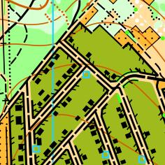 Фрагмент карти Сабарів - дачі